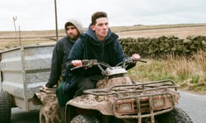 Best independent British film … God's Own Country starring Alec Secareanu, left, and Josh O'Connor.