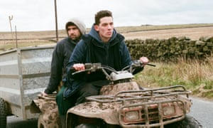 Alec Secareanu, left, and Josh O'Connor in God's Own Country