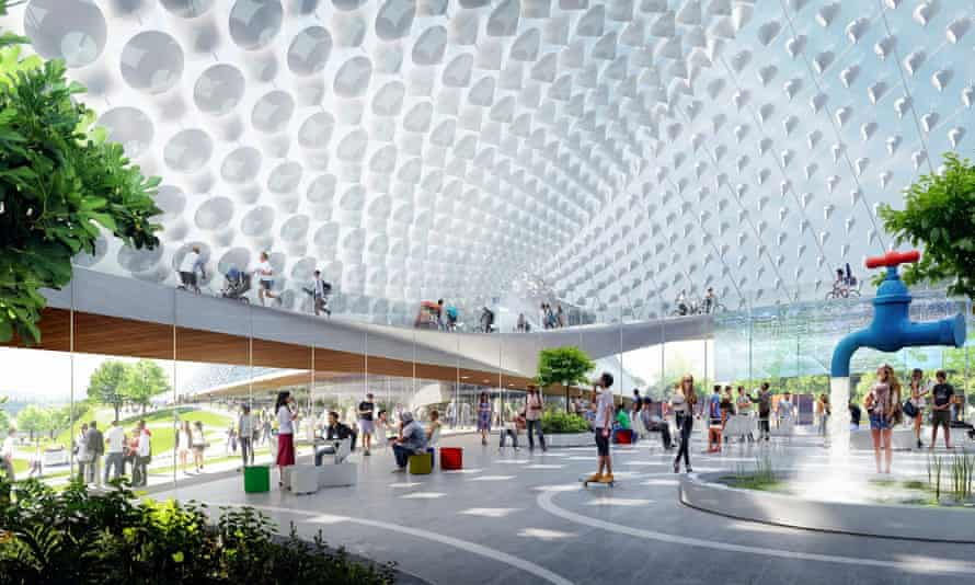 The nine to five … proposal for Google's North Bayshore campus