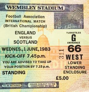 England v Scotland, 1983
