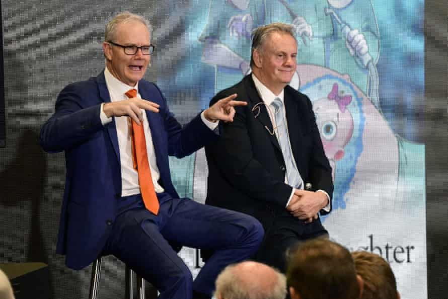 Ross Cameron and Mark Latham at the Conservative Political Action Conference.