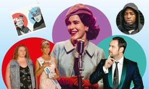 Their Own Devices, Dumplin', The Marvelous Mrs Maisel, Gun No 6 and Have I Got News For You.