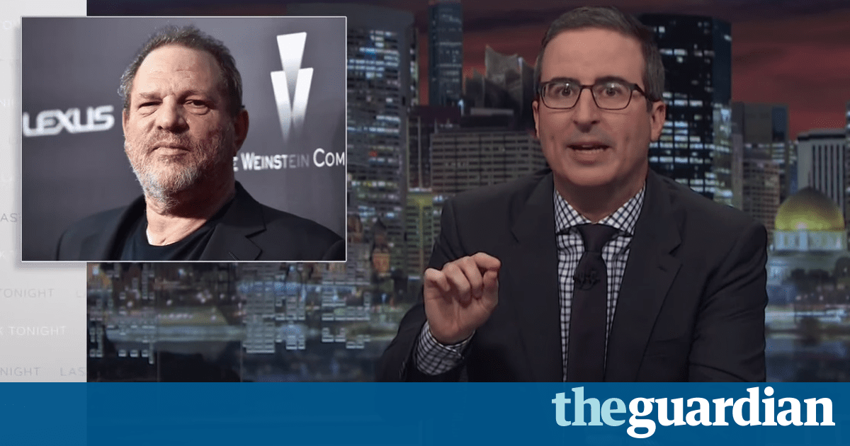 John Oliver on Weinstein: 'Everyone knew and they just went with it'