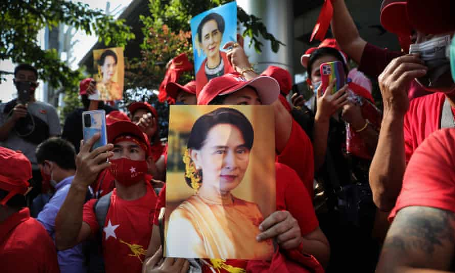 Myanmar's military junta have declared a one‑year national emergency and detained the country's de‑facto leader Aung San Suu Kyi