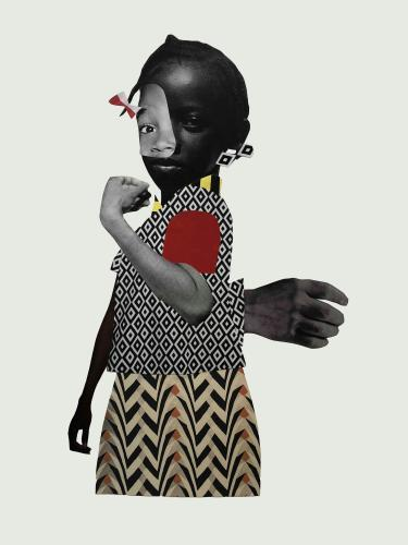 Untitled, 2018, Deborah Roberts