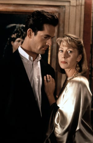 With Rupert Everett in The Comfort of Strangers.
