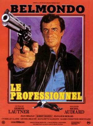 Jean-Paul Belmondo in The Professional, 1981