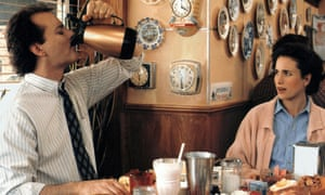 Bill Murray and Andie MacDowell in Groundhog Day