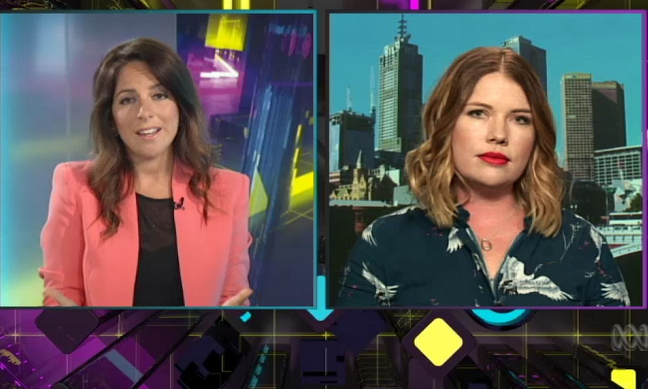 Clementine Ford Clashes With Sharri Markson On The Drum Video