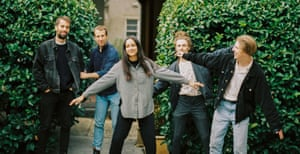 Melbourne five-piece band Cool Sounds.