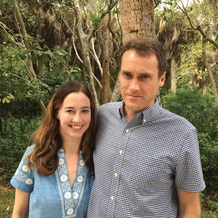 Jancee and her husband, Tom.
