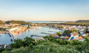 Mandal, a small city in the south of Norway.