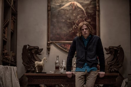 Actor Jesse Eisenberg in In Batman V Superman: Dawn Of Justice