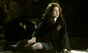 Wright as Ginny Weasley in Harry Potter and the Chamber of Secrets, 2002.