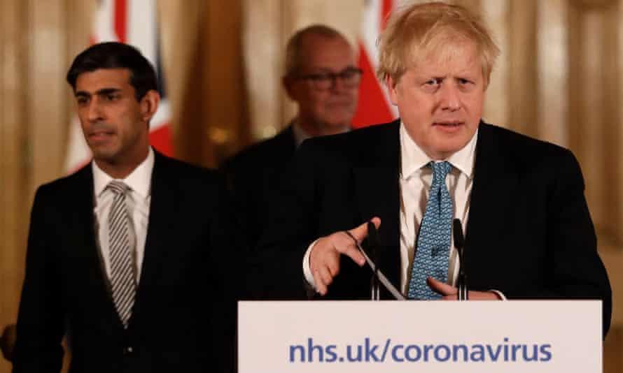 Boris Johnson's coronavirus briefing on Tuesday