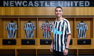 New Newcastle signing Miguel Almirón.