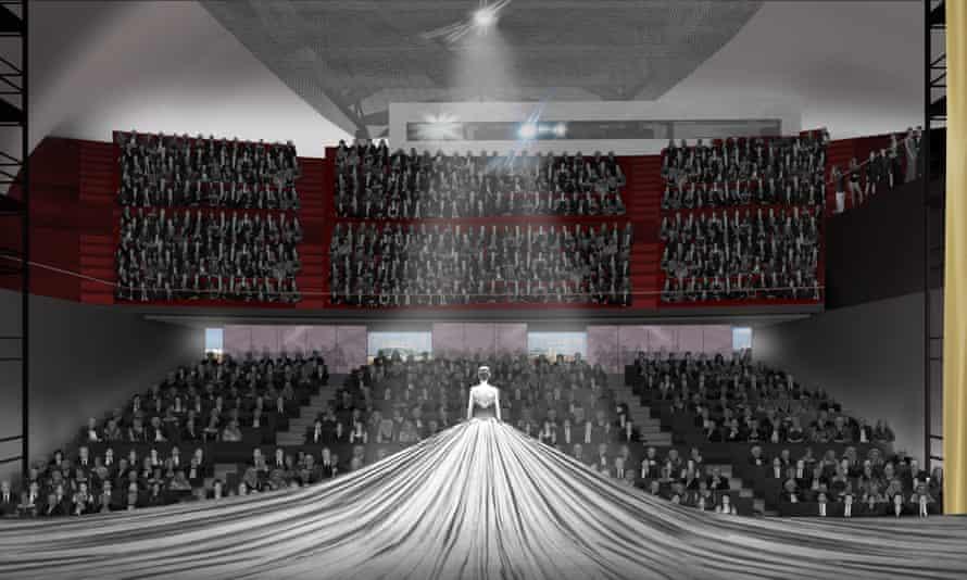 Artist's impression of the Factory auditorium
