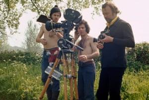 Peter Hall and cameraman Ivan Strasberg
