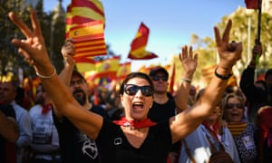 The furore that followed the Catalan vote unleashed fake news, Russian mischief and, oddly, libertarian activism.