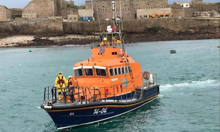 A Channel Islands lifeboat