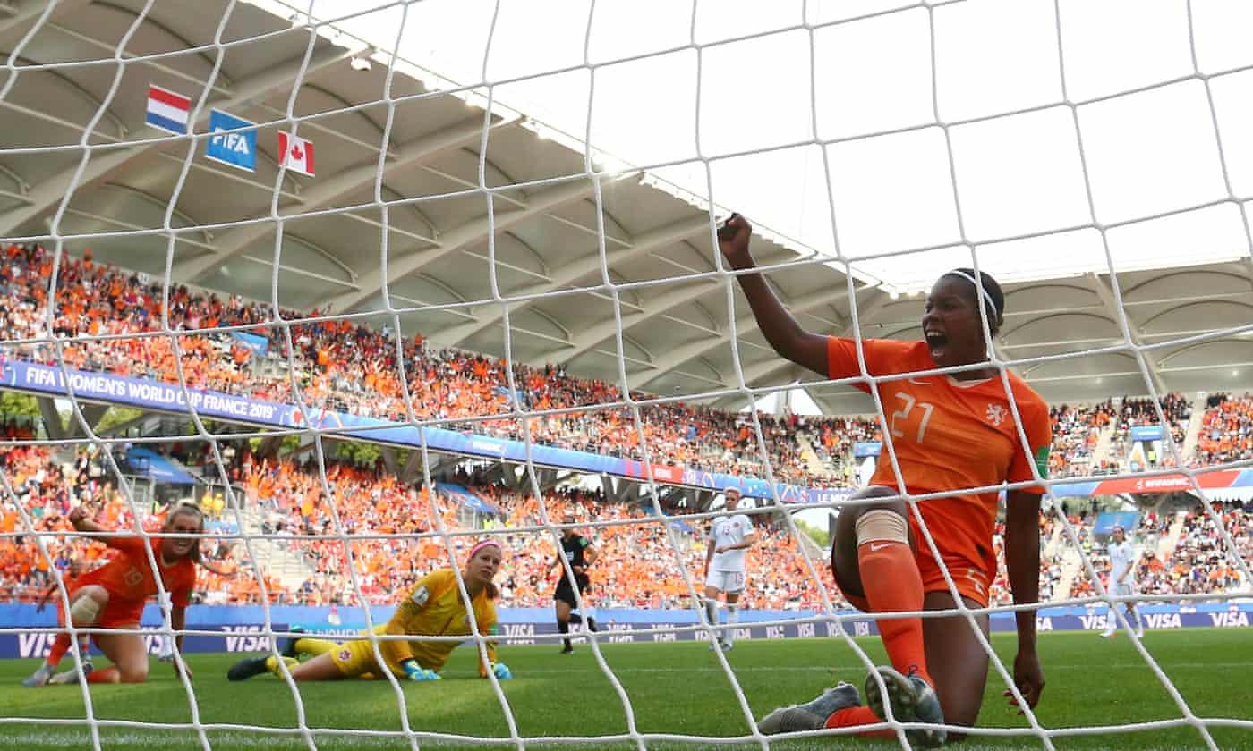 Lineth Beerensteyn grabs winner as Dutch maintain 100 per cent record
