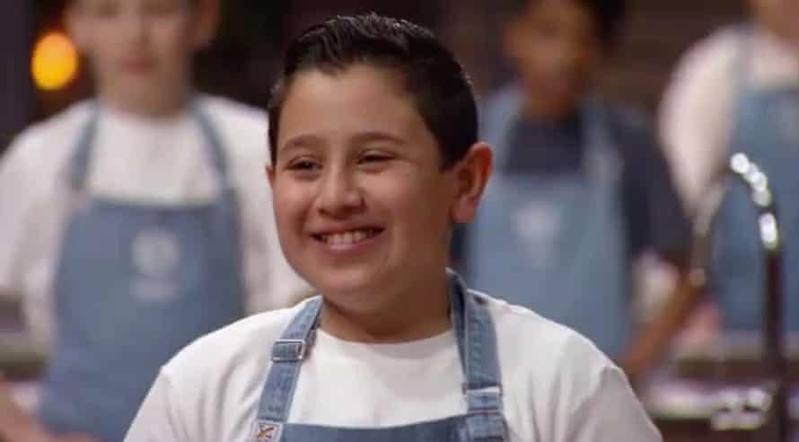 Filo, a contestant in MasterChef Junior.