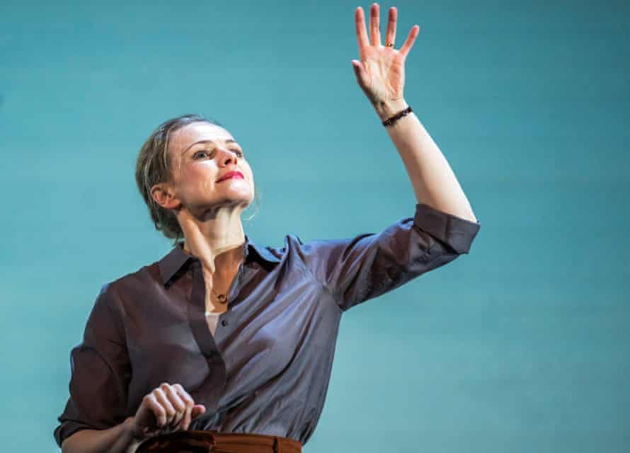 Maxine Peake in Avalanche at the Barbican.