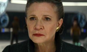 'No one's ever really gone' … Carrie Fisher as General Leia in Star Wars: The Last Jedi.
