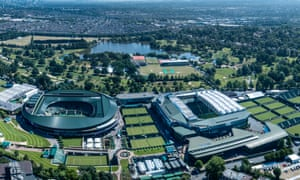 Across the road in the centre of the image is Wimbledon Park golf club whose ground the AELTC will be using rather earlier than 2041.