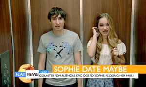Lift-off: Tom and Sophie (Alicia Scott-Fawcett).