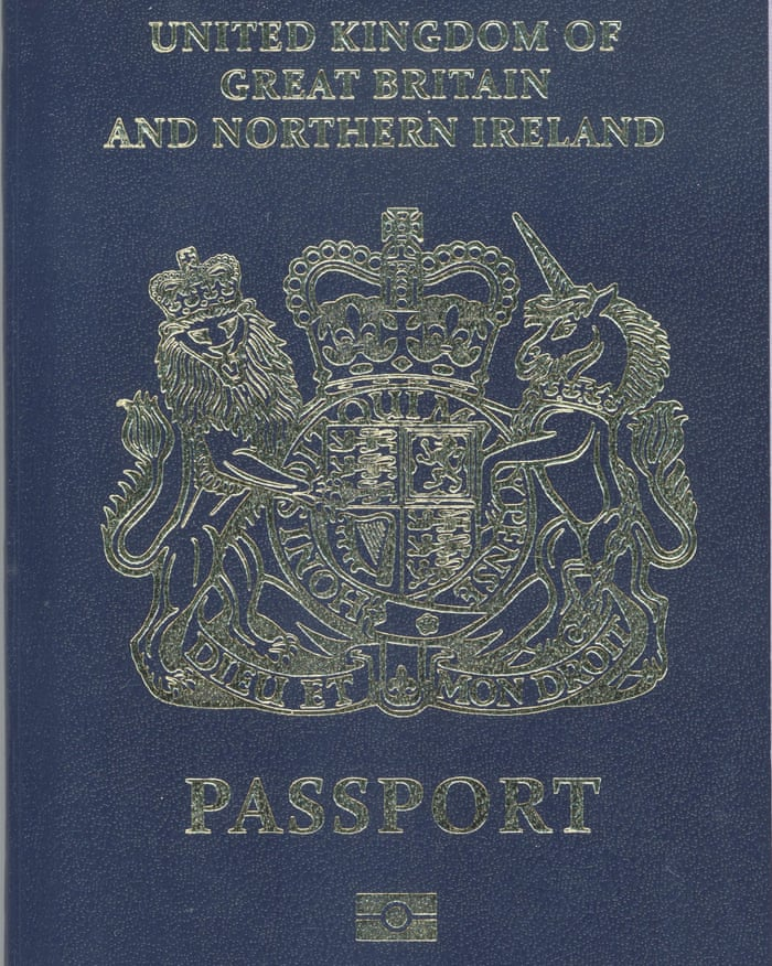 Black Or Blue Confusion Grows Over Traditional British Passport