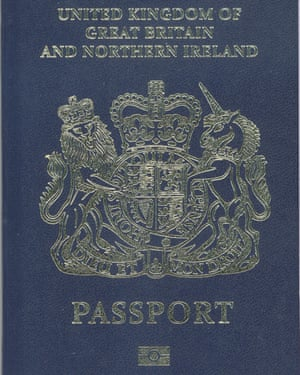 At the end of December the Home Office issued this mock-up of what the new passport could look like.