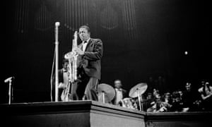 John Coltrane at the Concertgebouw in Amsterdam, 27 October 1963