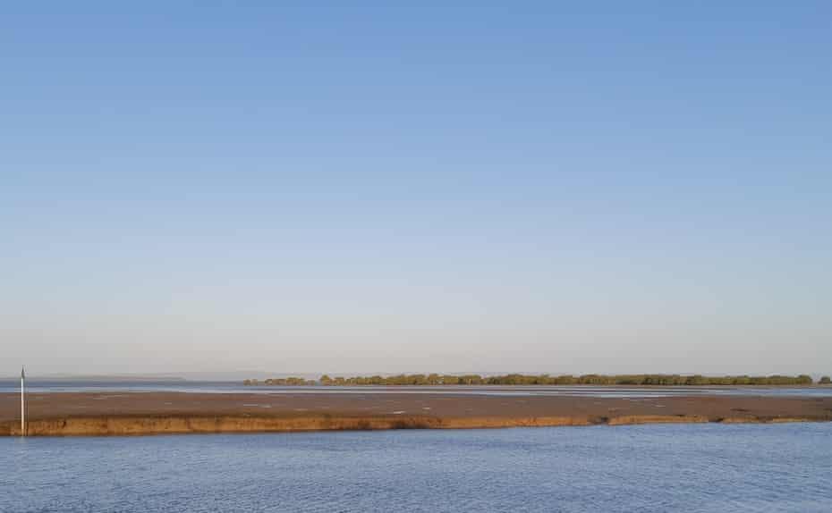 The Toondah mudflats