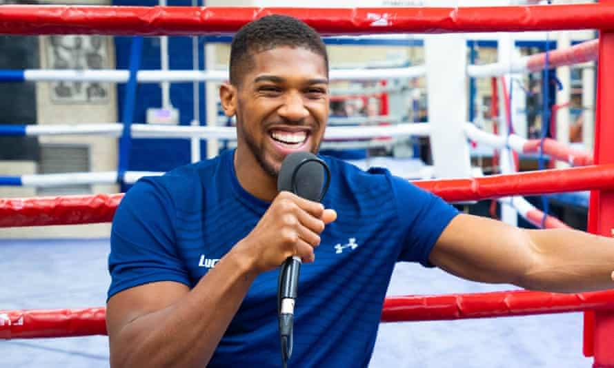Anthony Joshua has not boxed competitively since his rematch win over Andy Ruiz Jr.