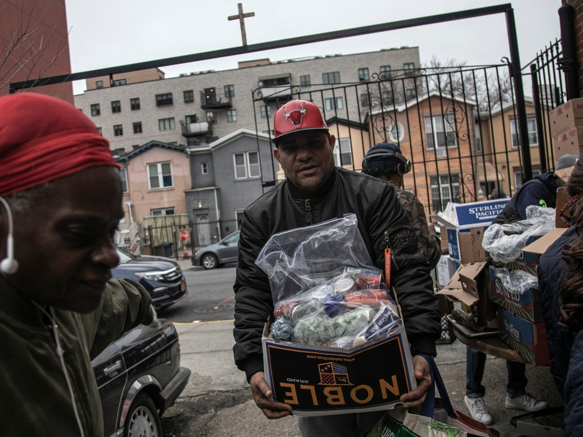 A Perfect Storm Us Facing Hunger Crisis As Demand For Food Banks