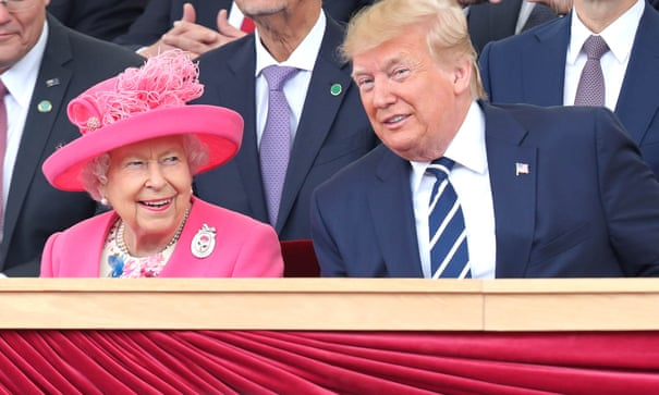 7be0b004 Trump's family holiday to UK Disneyland makes for painful viewing | John  Crace | US news | The Guardian