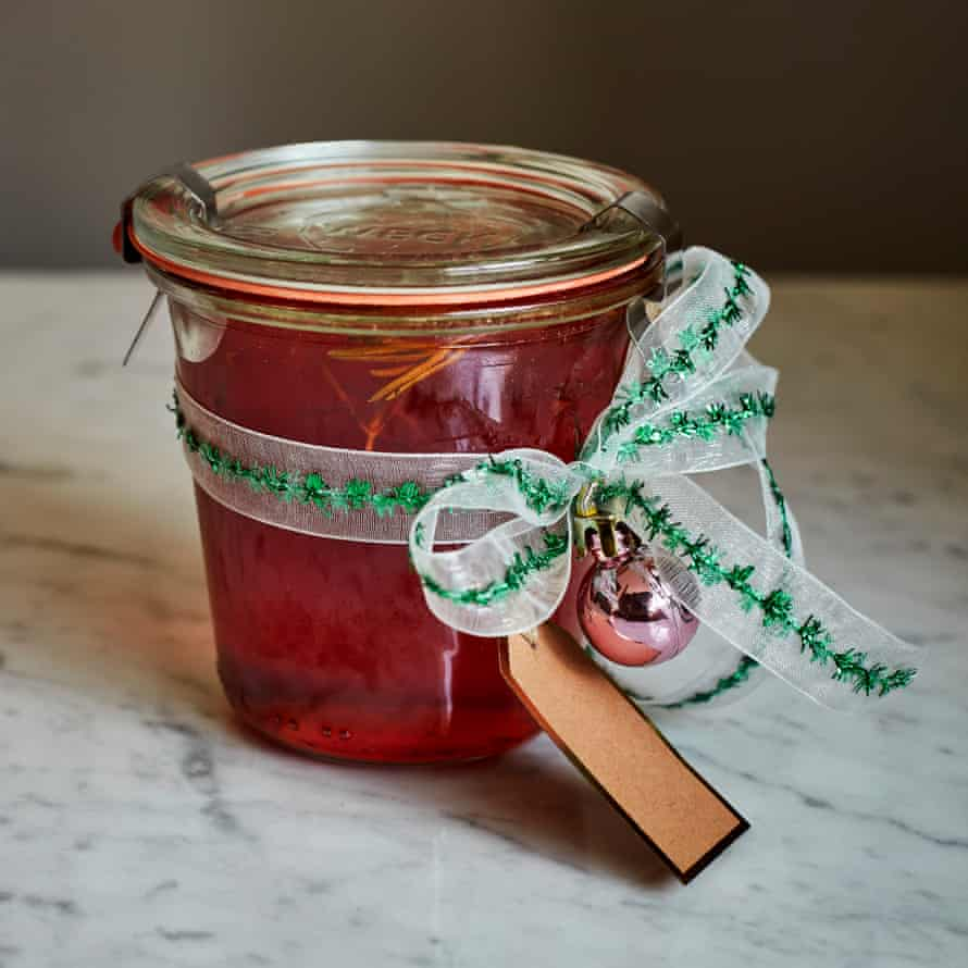 Kylee Newton's quince and rosemary jelly.