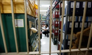 The vast archive of documents in Manila