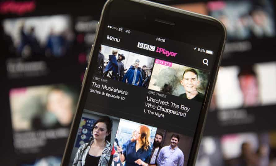 BBC iPlayer on iPhone and computer
