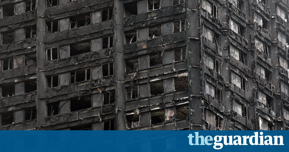 cladding for grenfell tower was cheaper more flammable option uk news the guardian