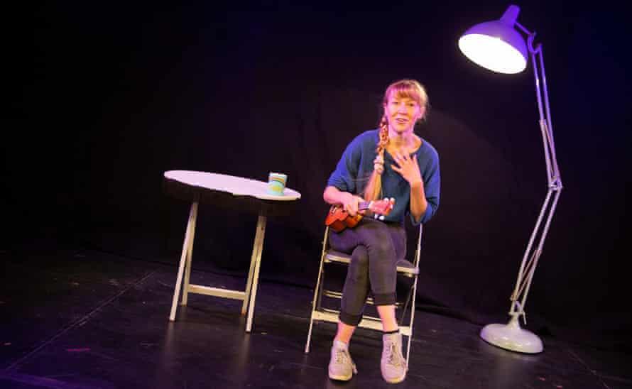Shocking revelations … Katie Arnstein in Sexy Lamp.