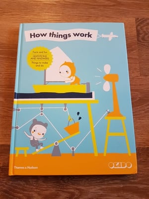 How Things Work by OKIDOReviewed by the Winfield familyThis is brilliant. The front cover didn't grab the family's attention but once they chose a topic they loved it. We chose sound first. Within 10 minutes we had made a water glass orchestra and a straw whistle. Such great ideas and great ways to demonstrate science in practice. The illustrations are good and vibrant colours throughout.Engaging, short bursts of info and lots of supporting experiments and things to do. A fantastic book that the kids will learn from. If there was a star rating this would definitely have 10 out of 10. Ace.