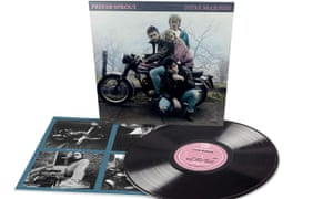 Prefab Sprout's Steve McQueen album cover and record.