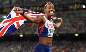 Shara Proctor set a new British record of 7.07m in the long jump at the world championships in Beijing.