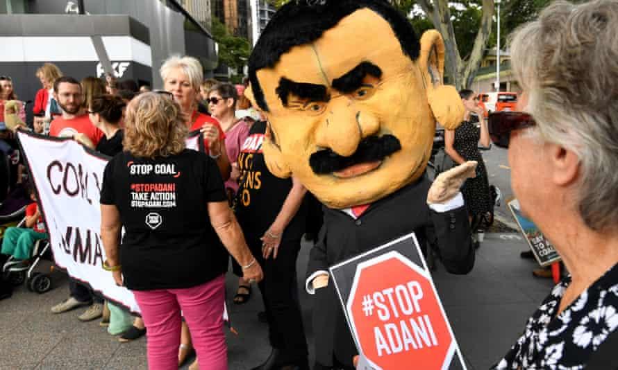 Adani protest