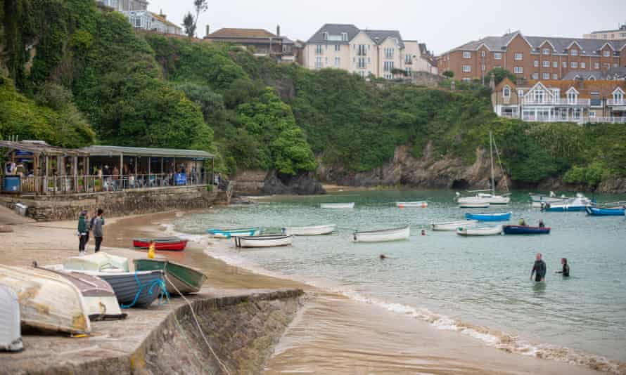 Newquay, in Cornwall
