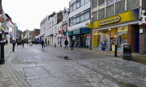 An increasing number of shops have been lying empty in Windsor.