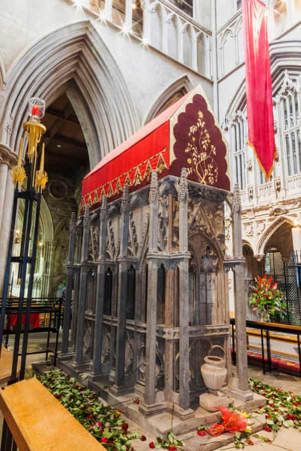 Shrine of Saint Alban , St Albans Cathedral