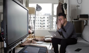 Huai Yang, one of a growing band of China's bitcoin traders making a fortune from the cryptocurrency.